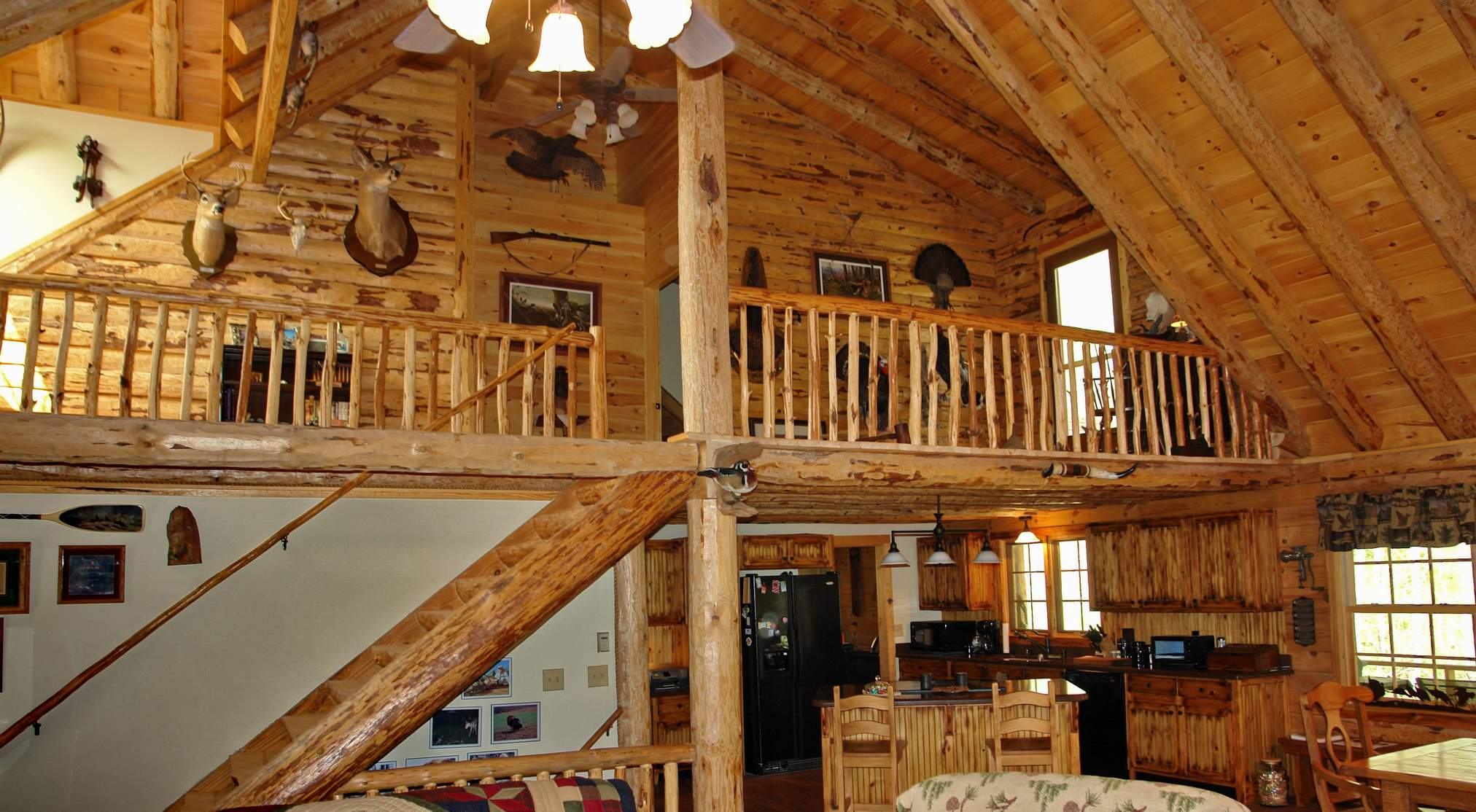 Model Home Country Rustic Dream Home